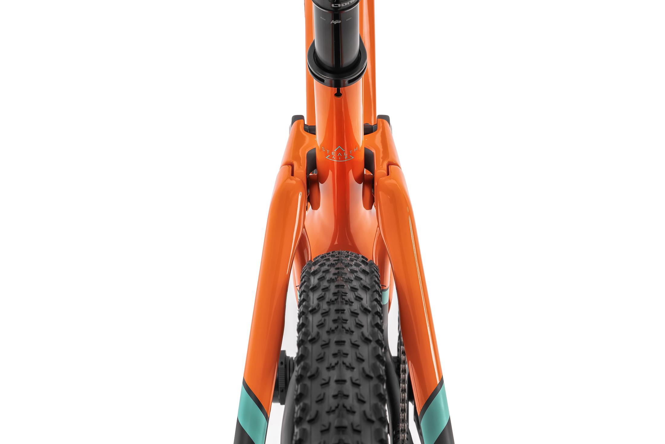F-Podium Carbon DC RR, fox orange/carbon/light green, 2020