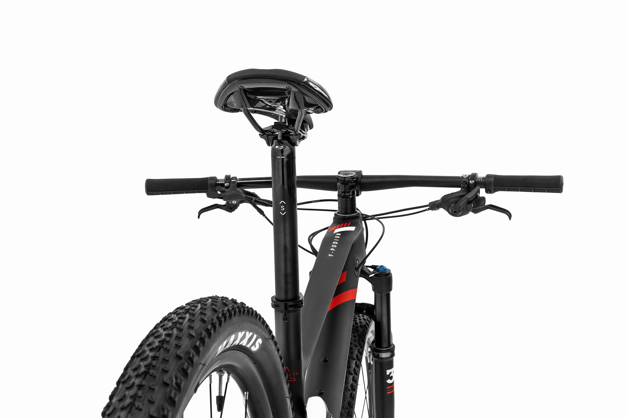 F-Podium Carbon - DT SWISS, carbon/white/flame red, 2020