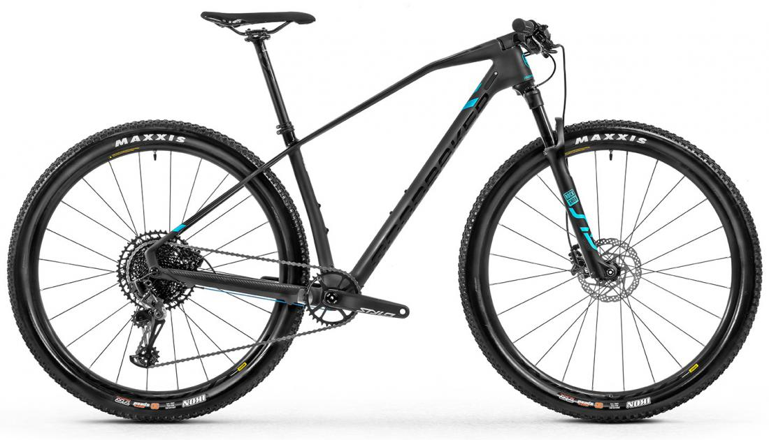 Podium Carbon, black phantom/light blue, 2020