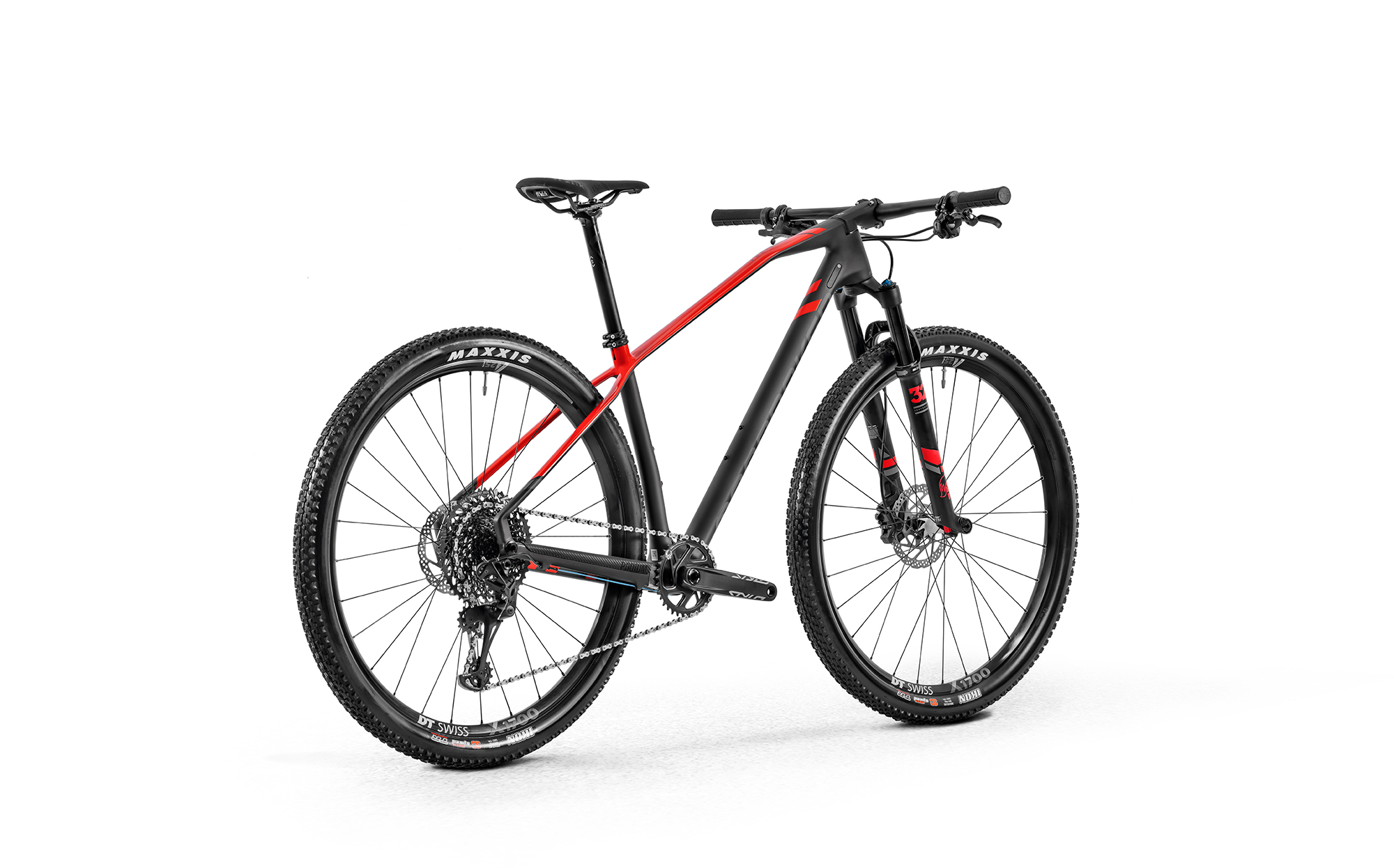 Podium Carbon R, carbon/flame red/nimbus grey, 2020