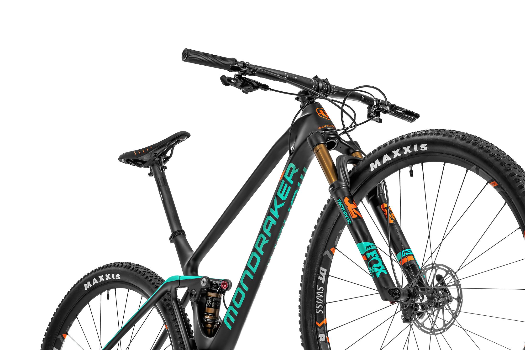 F-Podium Carbon R, carbon/light green/fox orange, 2020