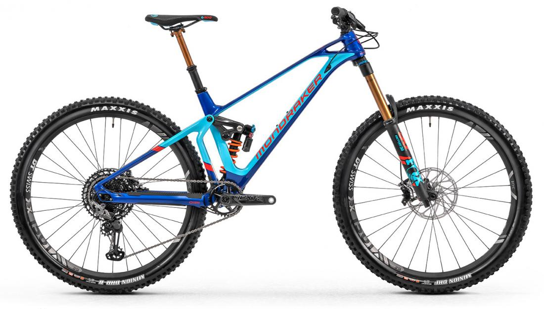 Super Foxy Carbon RR, deep blue/light blue/flame red, 2020