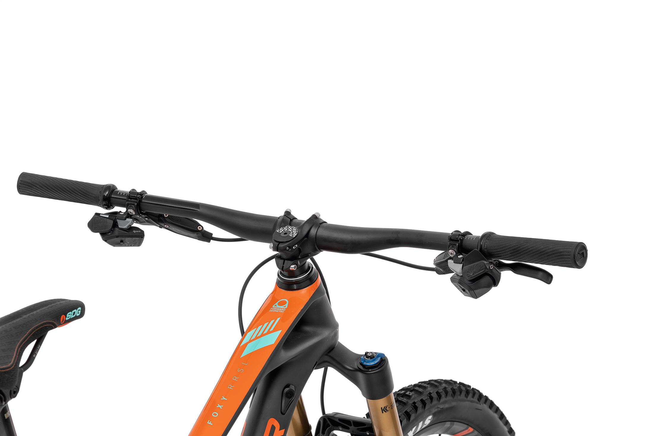 Foxy Carbon RR SL 29, carbon/fox orange/light green, 2020