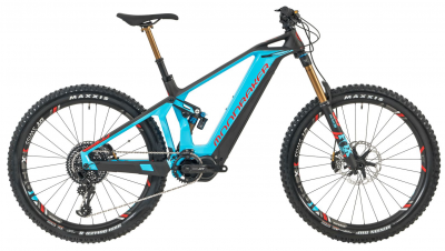 CRUSHER XR+ 27,5, light blue/flame red/carbon, 2019