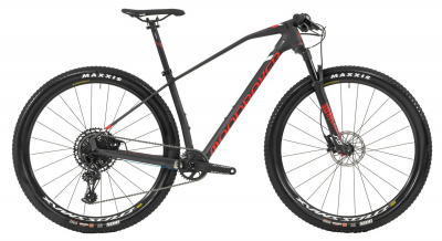 PODIUM CARBON 29, carbon/flame red, 2019